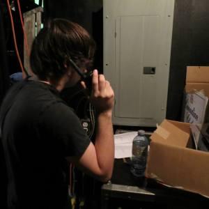 Caleb on mic