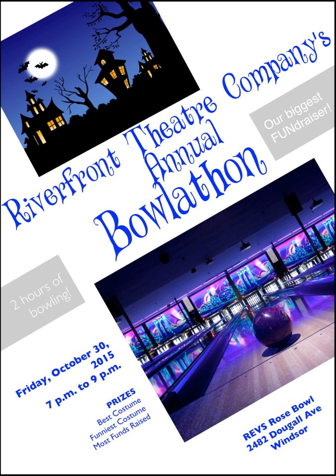 Coming up NEXT MONTH! Our annual Hallowe'en Bowlathon!