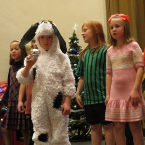 Dress Rehearsal (Narrator 1, Snoopy, Peppermint Patti and Sally shown)