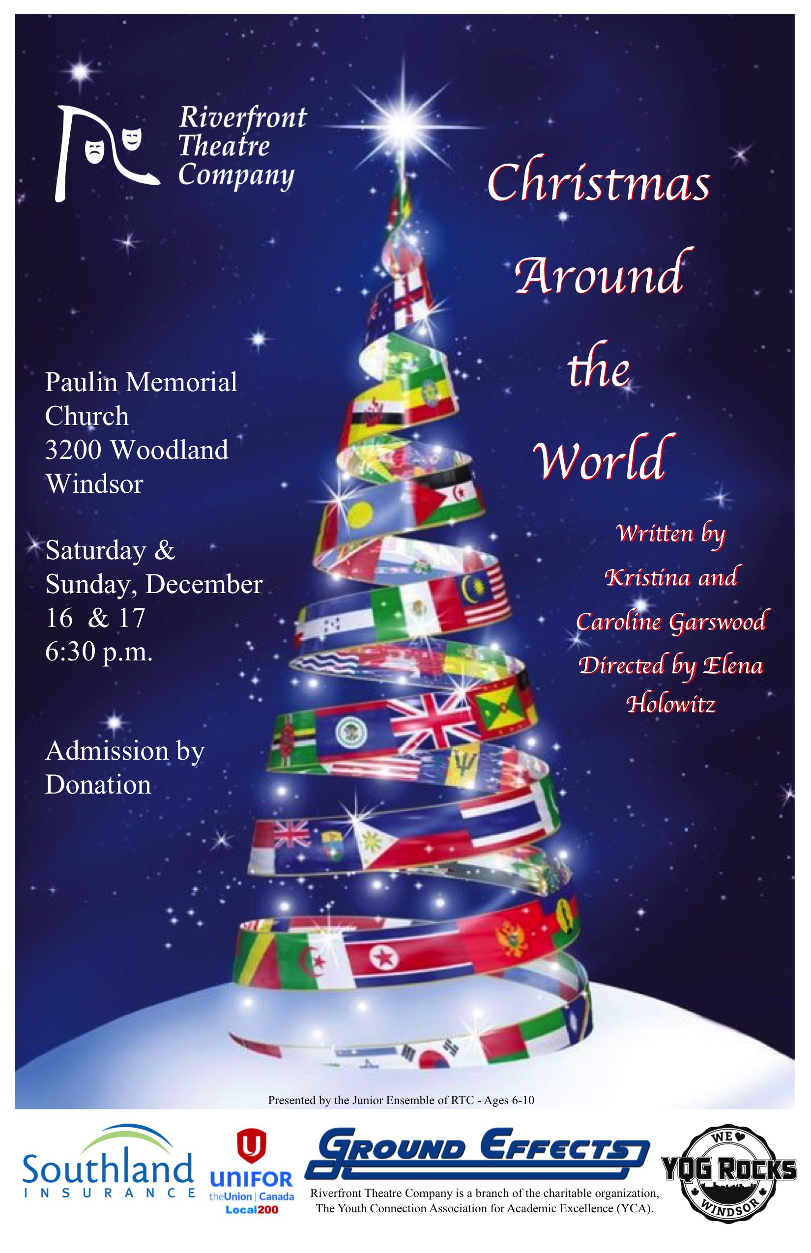 Christmas Around the World Poster