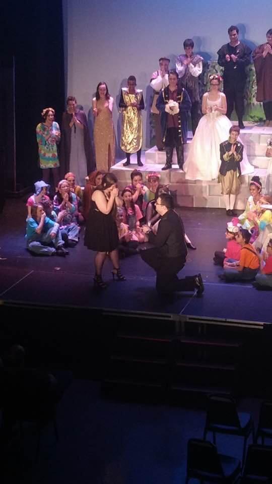 Sabin proposing