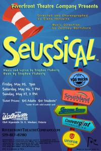 New Seussical poster